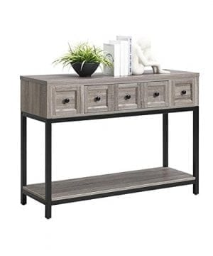 Altra Barrett Sonoma Modern Farmhouse Console Table Brown Oak Finish 0 1 300x360