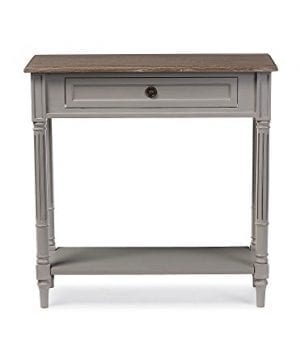 Baxton Studios Edouard 1 Drawer Console Table 0 300x360