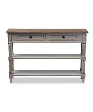 Baxton Studios Edouard 2 Drawer Console Table 0 300x360