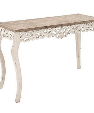 Deco 79 56564 Wood Carved Console Table 46 X 30 0 0 300x360