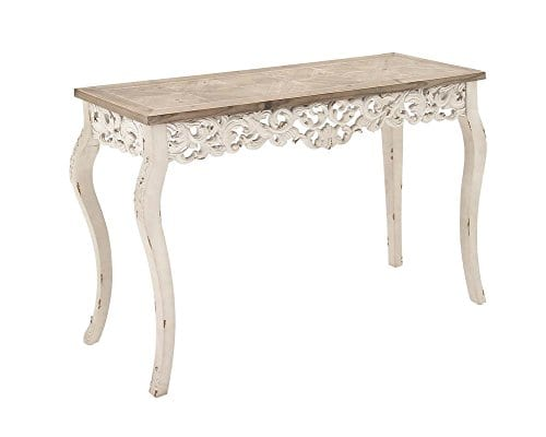 Deco 79 56564 Wood Carved Console Table 46 X 30 0 0