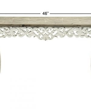 Deco 79 56564 Wood Carved Console Table 46 X 30 0 1 300x360