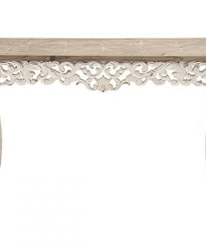 Deco 79 56564 Wood Carved Console Table 46 X 30 0 300x360