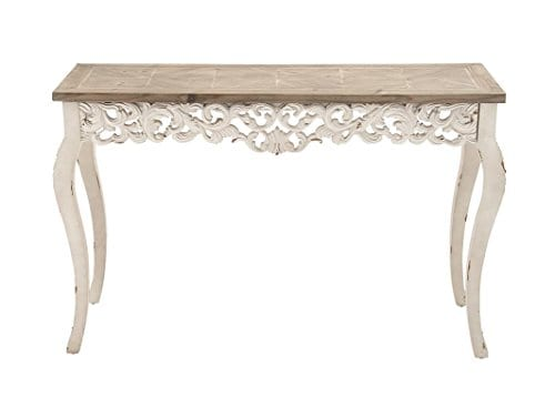 Deco 79 56564 Wood Carved Console Table 46 X 30 0