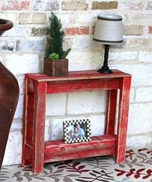 Red End Table 0 300x360