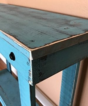 Rustic Handcrafted Reclaimed Console Table Self Assembly 0 0 300x360