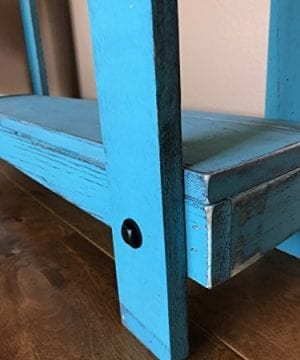Rustic Handcrafted Reclaimed Console Table Self Assembly 0 1 300x360