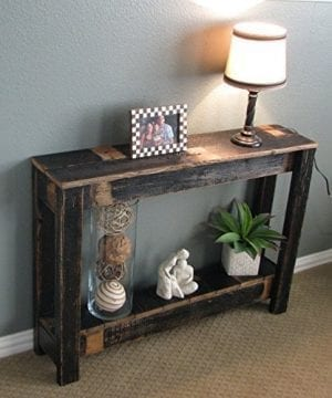 Rustic Sofa Table 0 300x360