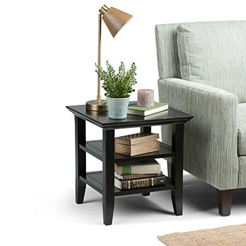 Simpli Home Acadian End Table 0 0