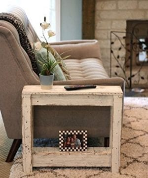 White End Table 0 300x360