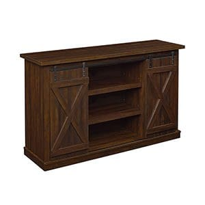 Wrangler Media Console In Sawcut Espresso Finish TC54 6127 PD01 0