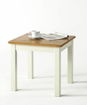 Zinus Farmhouse Wood Side Table 0 300x360