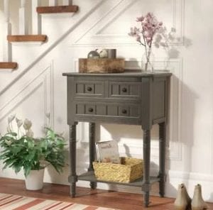 charlton home wedgewood console sofa table