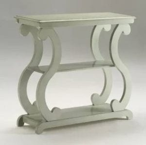 crown mark lucy console table