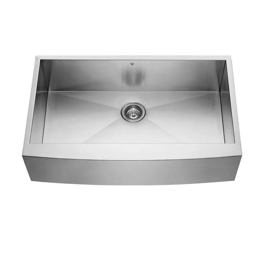 36 inch Farmhouse Apron 16 Gauge Stainless Steel Kitchen Sink