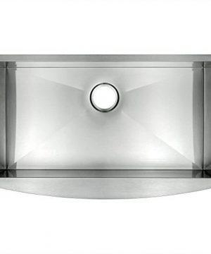 AKDY 30 X 20 X 9 18 Gauge Handmade Stainless Steel Undermount Apron Single Bowl Kitchen Sink 0 300x360