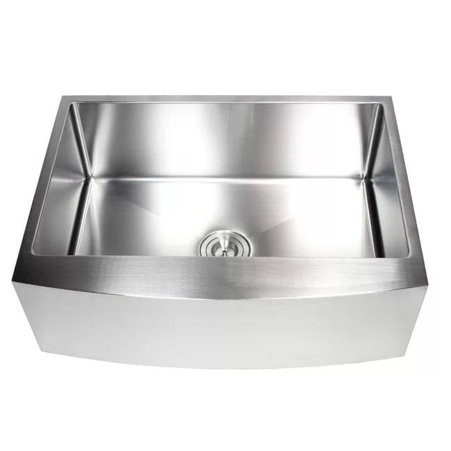 Ariel 30 Stainless Steel Farmhouse Kitchen Sink