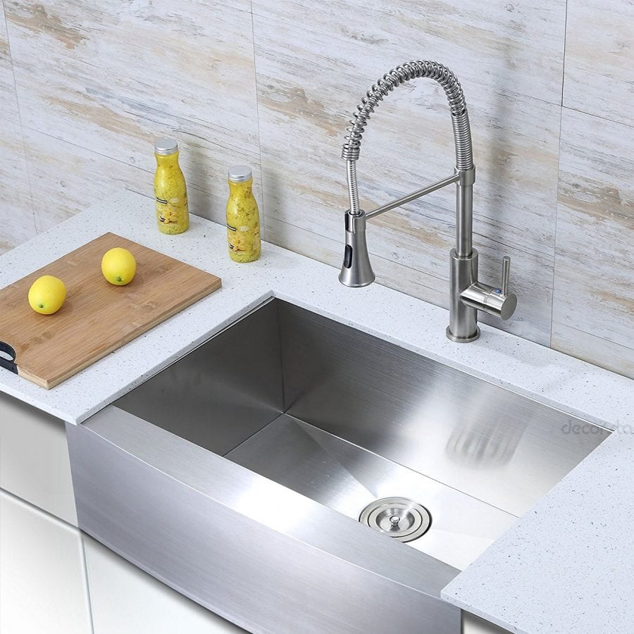 Decor Star 30 Inch Farmhouse Stainless Steel Sink