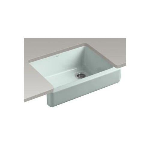 KOHLER Whitehaven Self Trimming Apron Front Single Basin Sink With Short Apron 0