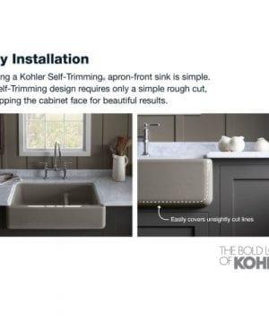 Kohler Whitehaven Short Apron Basin Sink 0 0 300x360