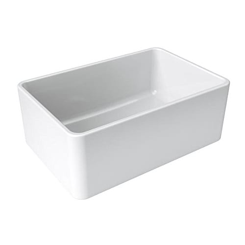 LaToscana 27 Inch Single Bowl Farmhouse Apron-Front Kitchen Sink