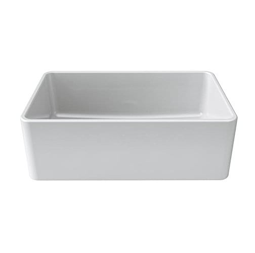 LaToscana 30 Inch Single Bowl Farmhouse Fireclay Kitchen Sink