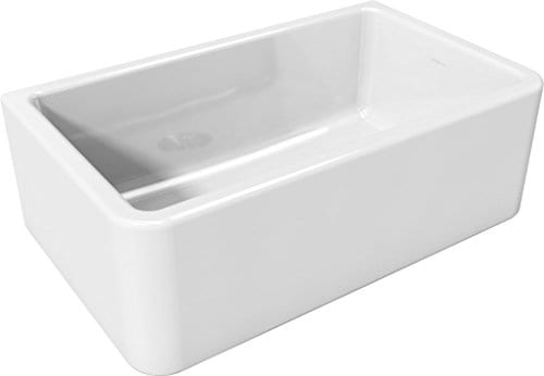 Latoscana 30 Reversible Fireclay Farmhouse Sink LFS3018W 0 1