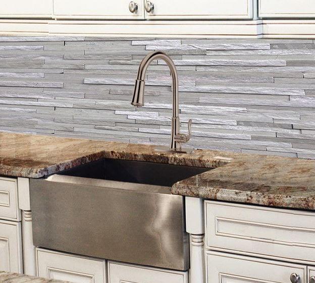 Nantucket Sinks Pro Series Apron Farmhouse Stainless Steel Kitchen Sink 24