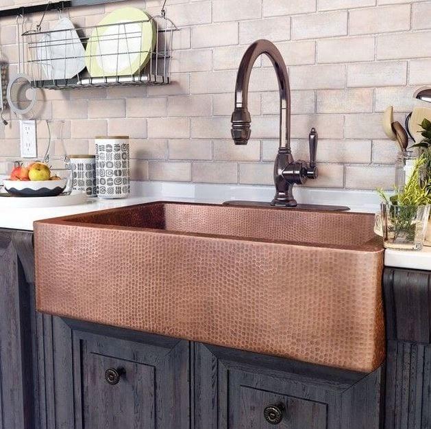 adams farmhouse apron-front kitchen sink 33