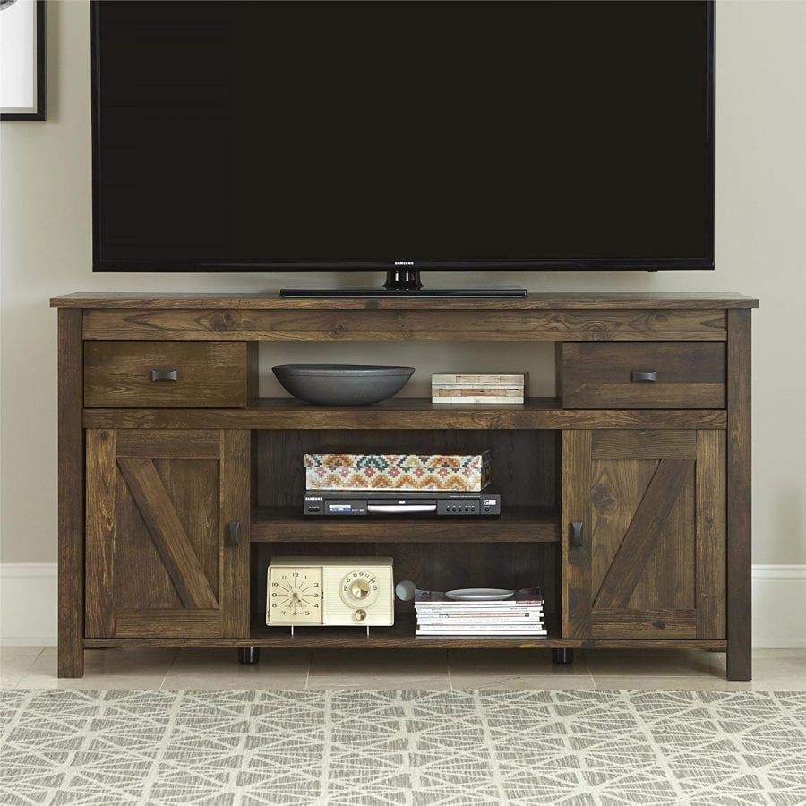 online store d9318 31044 Ameriwood Home Farmington TV Stand for TVs up to 60