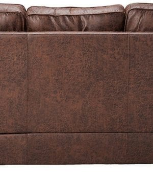coaster home furnishings brown sofa 3