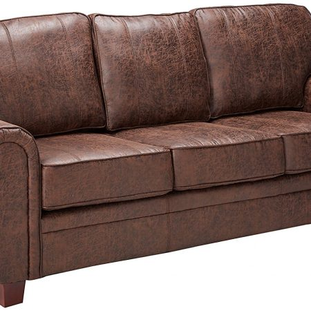 coaster home furnishings brown sofa