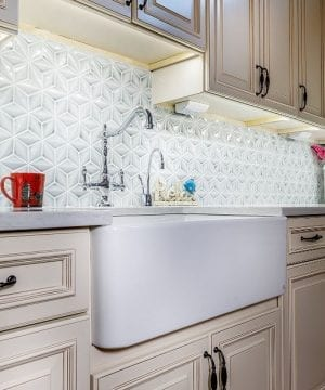 finefixtures sutton white farmhouse sink