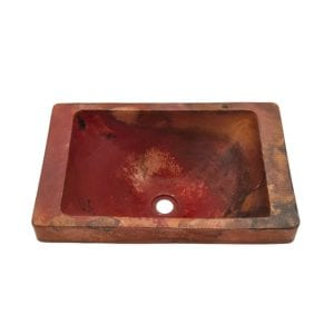 novatta santa cruz copper drop-in sink
