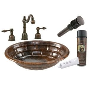premier copper products copper bathroom sink