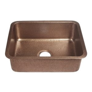 sinkology classic renoir copper kitchen sink