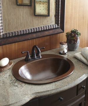 Sinkology Seville Drop In Bathroom Sink 300x360