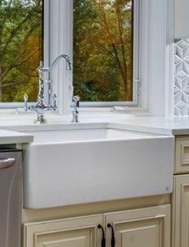 White Farmhouse Sinks