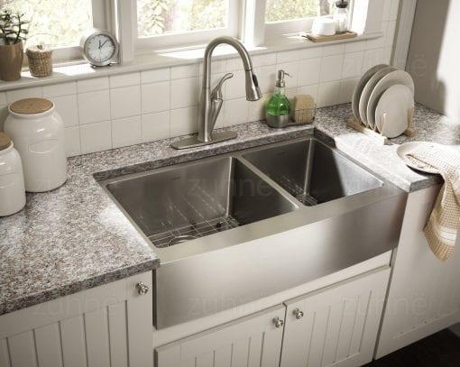Zuhne Farmhouse Stainless Steel Kitchen Sink 1 510x407