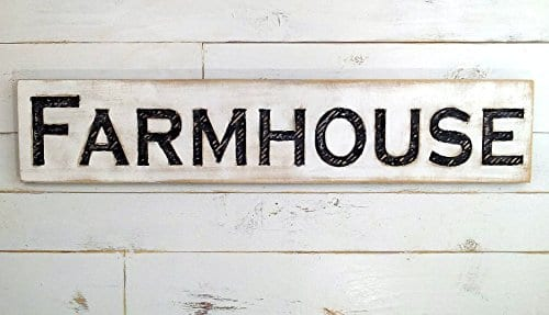 Large Farmhouse Sign 48x10 Carved Horizontal Cypress Lumber Rustic Wood Distressed Shabby Style Decor 0 1