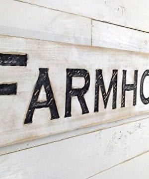 Large Farmhouse Sign 48x10 Carved Horizontal Cypress Lumber Rustic Wood Distressed Shabby Style Decor 0 300x360