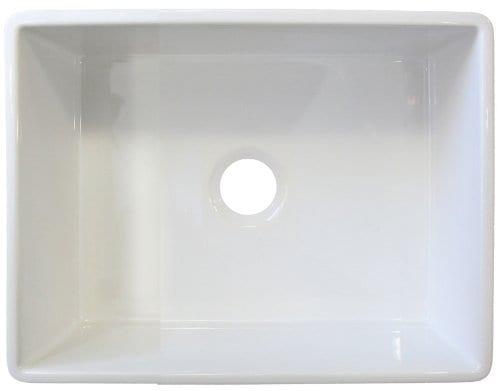 alfi brand white fireclay sink