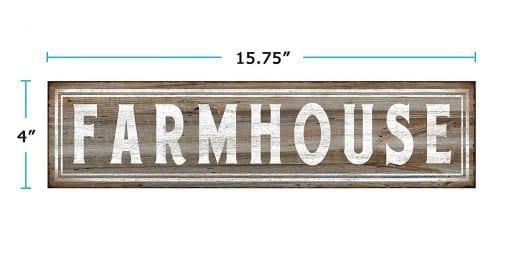farmhouse wall sign