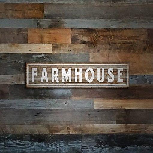 Farmhouse Wood Wall Sign 510x509