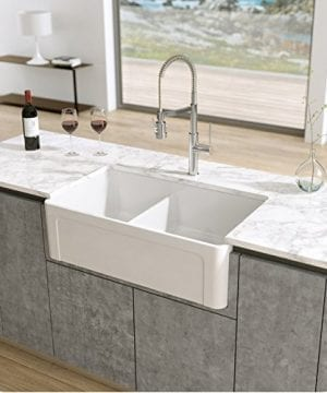 latoscana reversible double bowl fireclay farmhouse sink 1