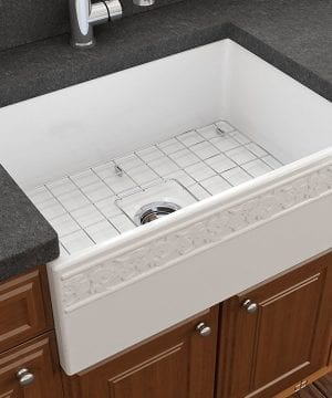 vigneto farmhouse apron front fireclay kitchen sink 1