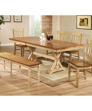 winners only quails run trestle farmhouse table