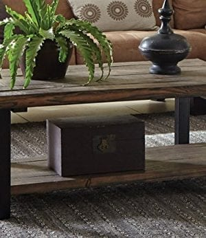 Alaterre Sonoma Rustic Natural Coffee Table 0 0 300x346