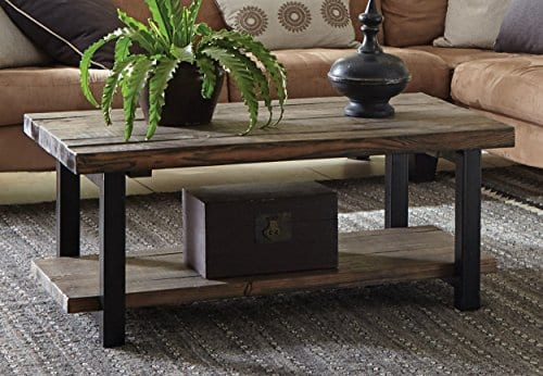 Alaterre Sonoma Rustic Natural Coffee Table 0 0