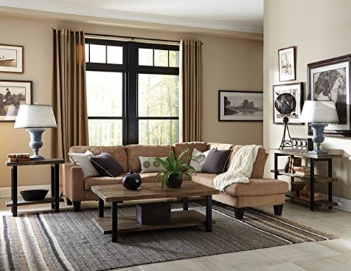Alaterre Sonoma Rustic Natural Coffee Table 0 1